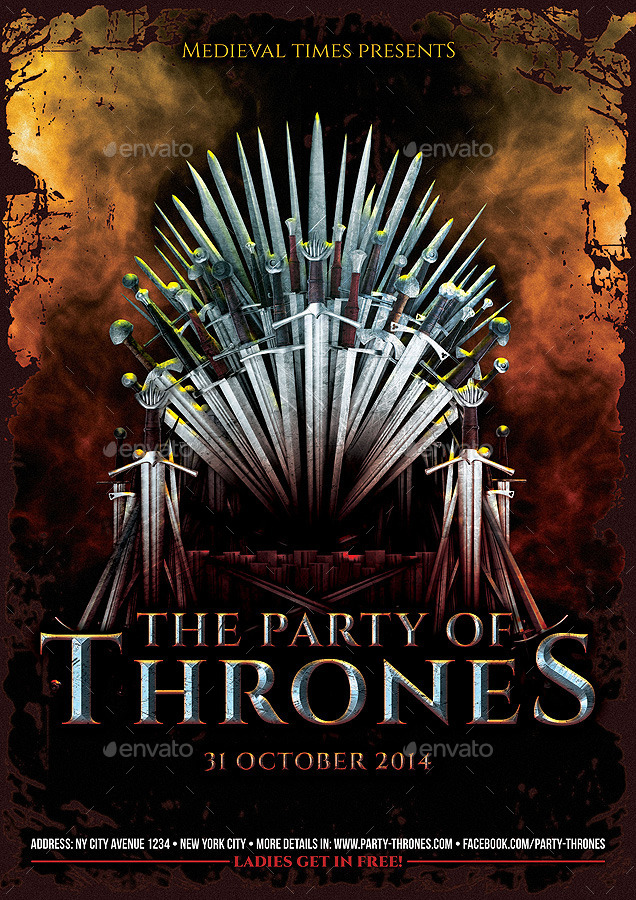 New Game of Thrones Stark House 3PK Lannister Flag Wall
