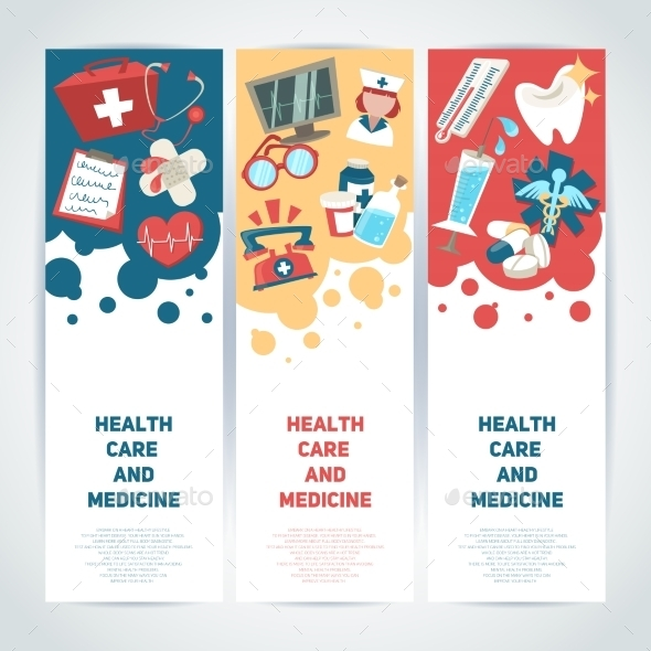 medical vertical banners by macrovector graphicriver