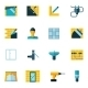 Home Repair Icons Flat - GraphicRiver Item for Sale