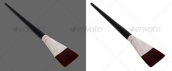 Paint Brush - Activities & Leisure Isolated Objects