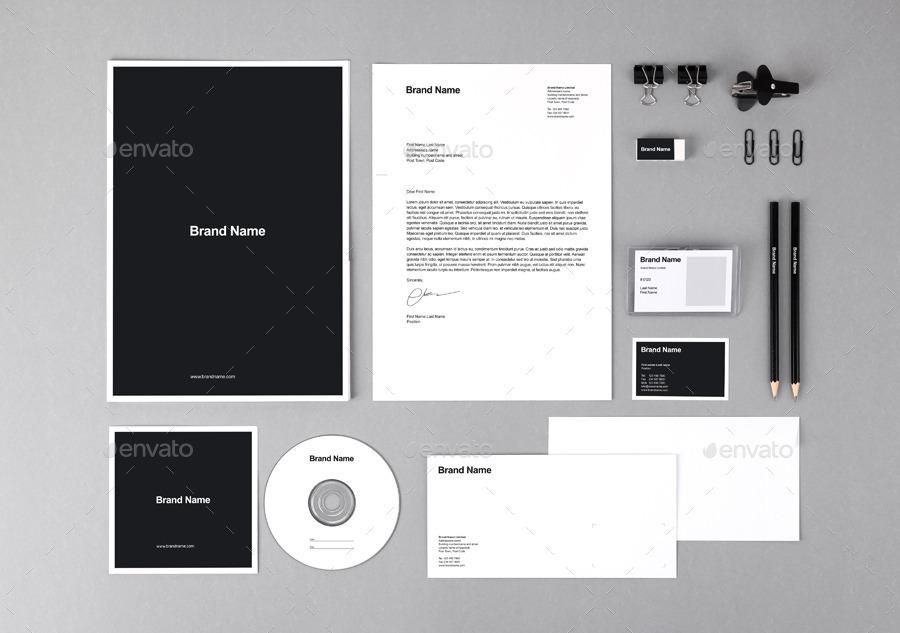 Branding Identity Mock-Ups and Templates