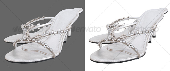 Pair of Wedding Shoes - Clothes & Accessories Isolated Objects