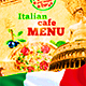 Italian Menu Template vol.2 - GraphicRiver Item for Sale