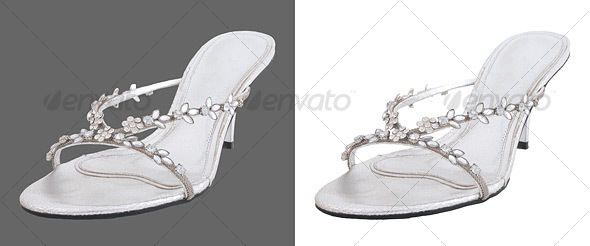 Single High Heel Shoe - Clothes & Accessories Isolated Objects