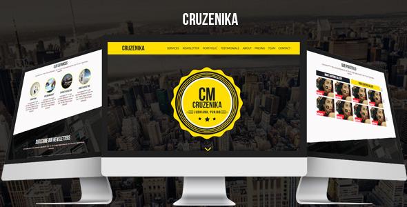 Cruzenika - Creative Parallax Muse Template