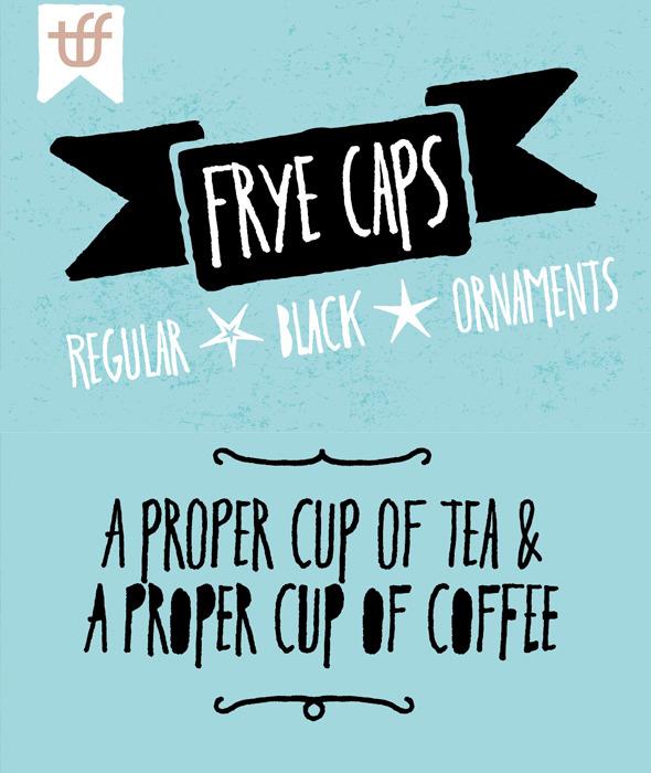 Frye - Handwriting Fonts