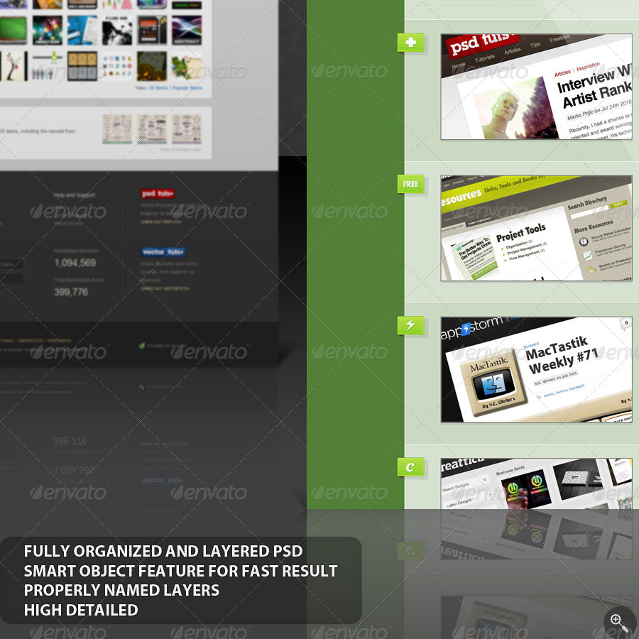 Web Mockup - Single Series - 1