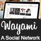 Wayami Skin (A Social Network)
