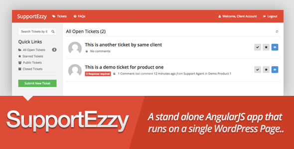 SupportEzzy Ticket System