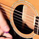 Playing At Guitar In Studio - VideoHive Item for Sale