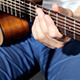 Playing At Classic Acoustic Guitar - VideoHive Item for Sale
