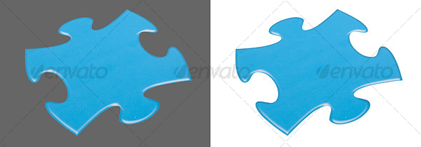 Puzzle Piece - Activities & Leisure Isolated Objects