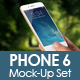 Photorealistic Phone 6 App Mock-Up Set - GraphicRiver Item for Sale