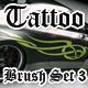Tribal Tattoo Brush Set 3 - GraphicRiver Item for Sale