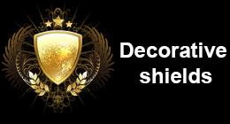 Decorative shields