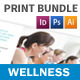 Wellness Center Print Bundle - GraphicRiver Item for Sale