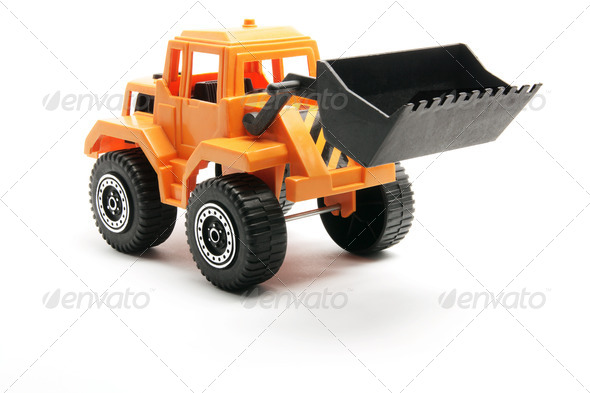 Toy Earth Mover - Stock Photo - Images