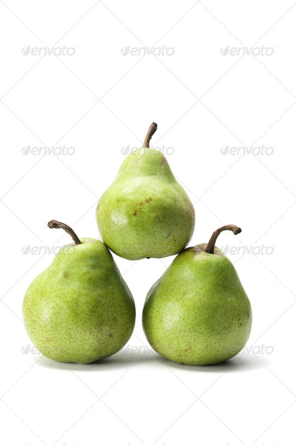 Packhams Pears - Stock Photo - Images