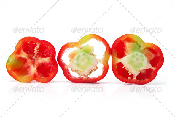 Red Capsicum - Stock Photo - Images