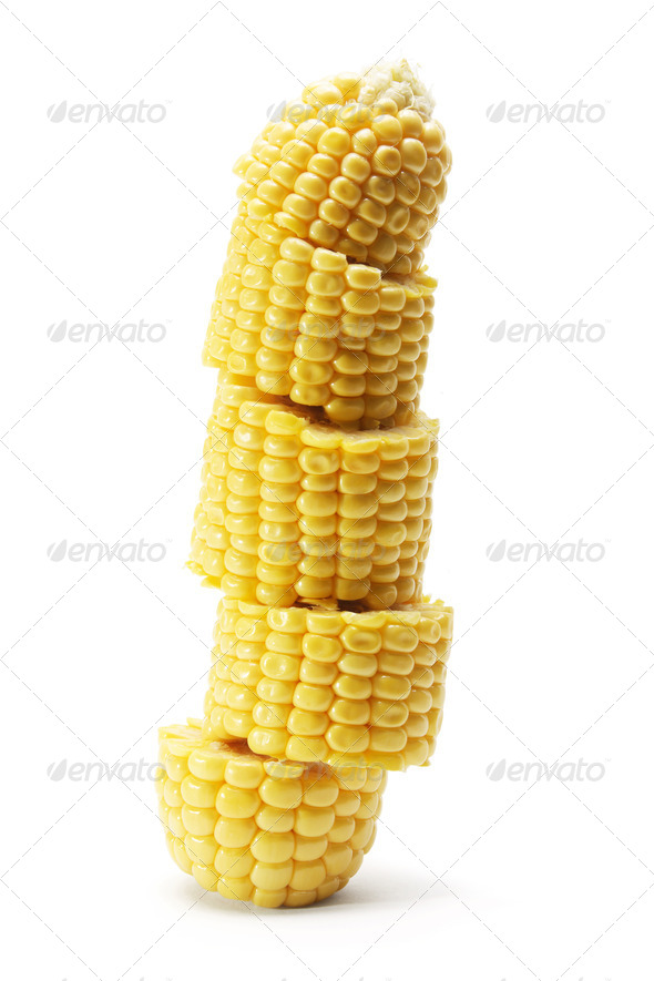 Corn Cob - Stock Photo - Images