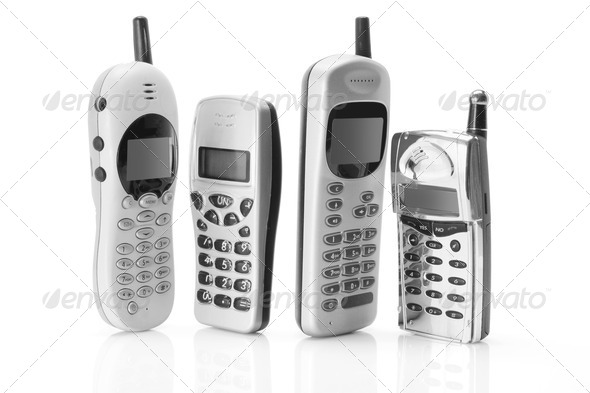 Mobile Phones - Stock Photo - Images