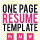 CV / Resume Template - GraphicRiver Item for Sale