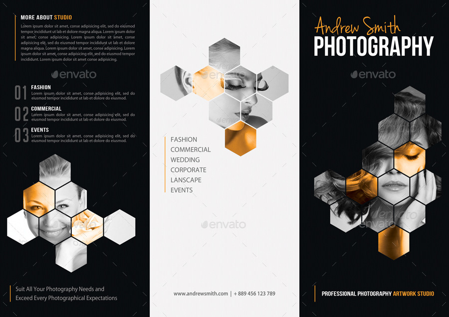 Photography Studio Fold Brochure By Rapidgraf  Graphicriver