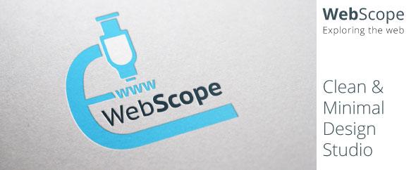 Webscope banner