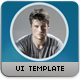 Flat App UI Design Kit - GraphicRiver Item for Sale