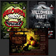 Halloween Party Flyer Bundle Vol. 2 - GraphicRiver Item for Sale