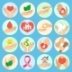 Charity and Donation Icons - GraphicRiver Item for Sale