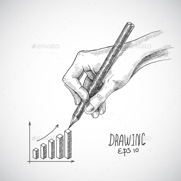 Hand Drawing Graph - Miscellaneous Conceptual