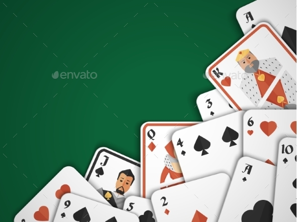 Playing Cards Background - Borders Decorative