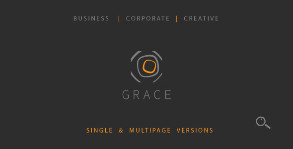 Grace – Single & Multipage Theme - Corporate Muse Templates