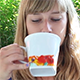 Girl Drinking Tea - VideoHive Item for Sale
