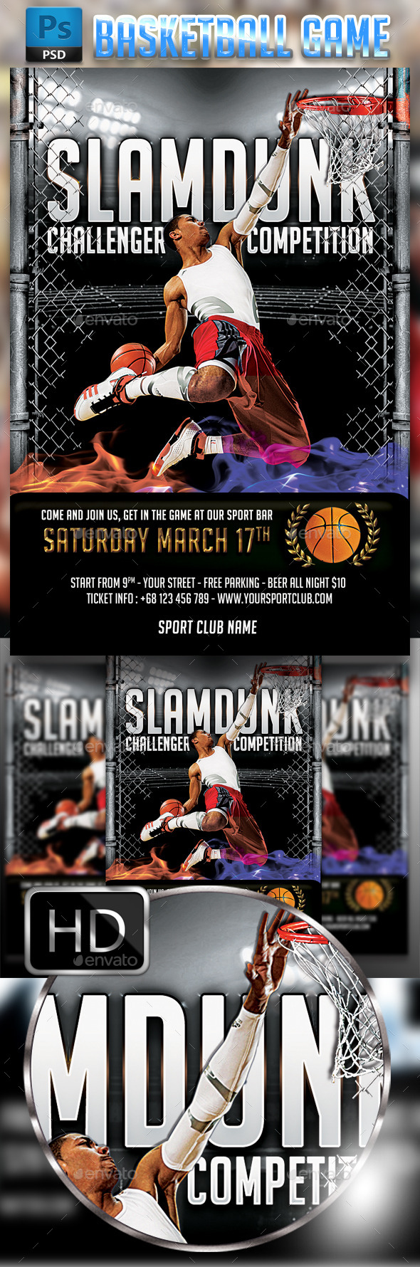 Slamdunk / BasketBall #2 - Sports Events