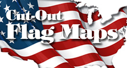 Cut-Out Flag Maps