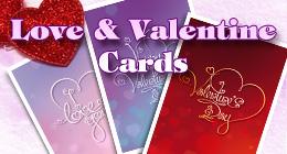 Love & Valentine Cards