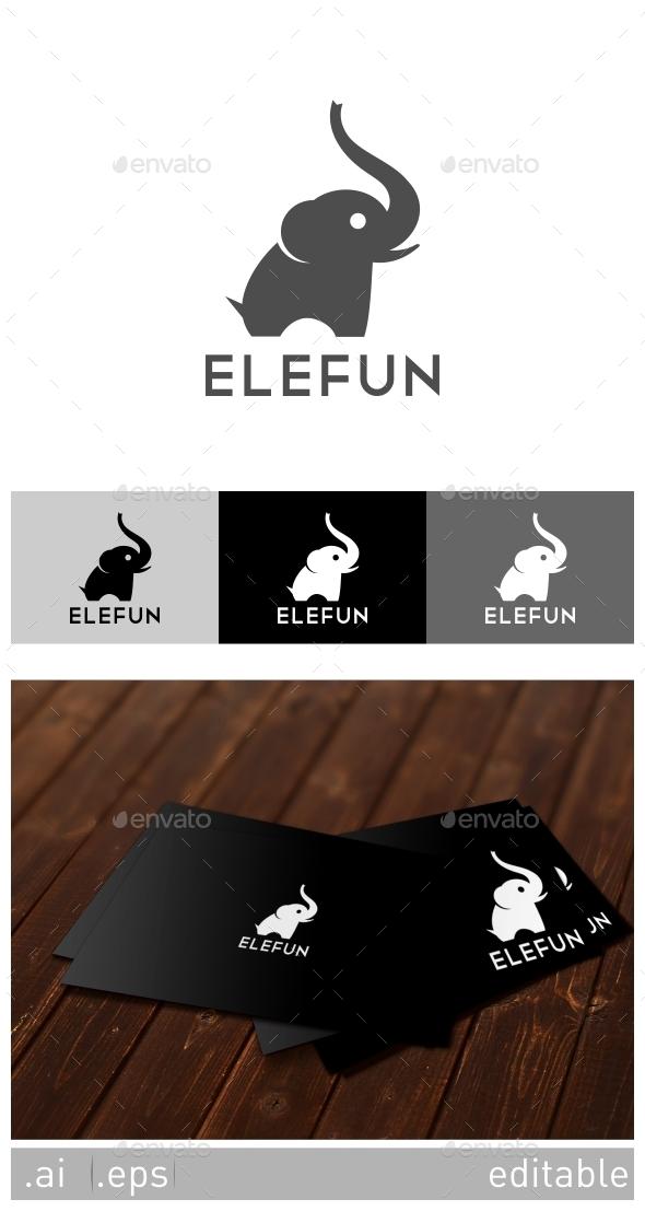 Elefun Logo Template - Animals Logo Templates
