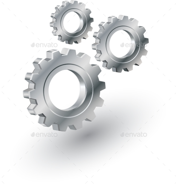 Gears Sign - Web Technology