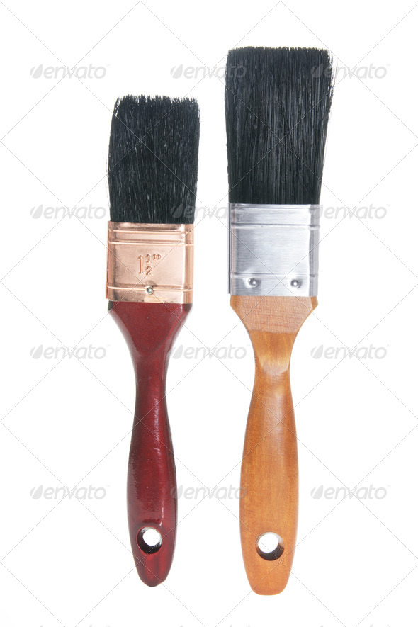 Paint Brushes - Stock Photo - Images