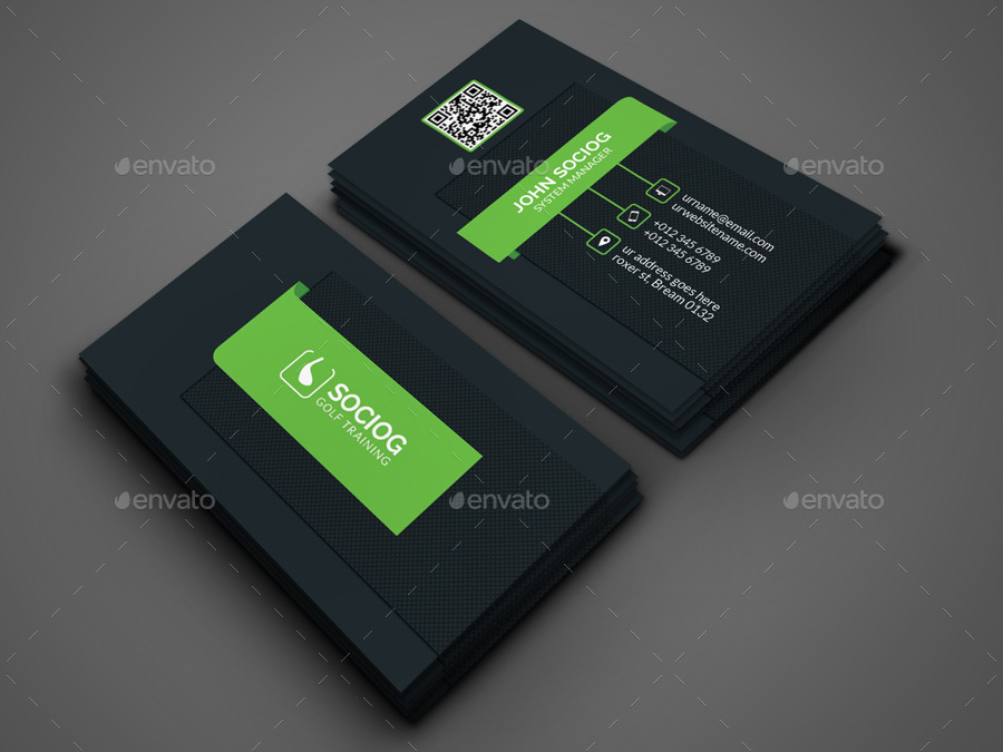 Golf business card by axnorpix graphicriver golf business card colourmoves
