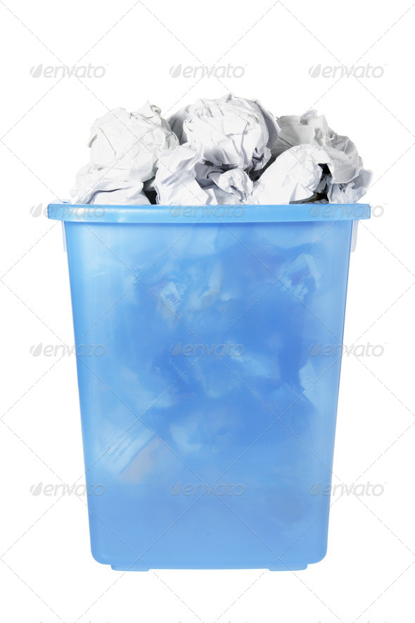 Wastebasket - Stock Photo - Images