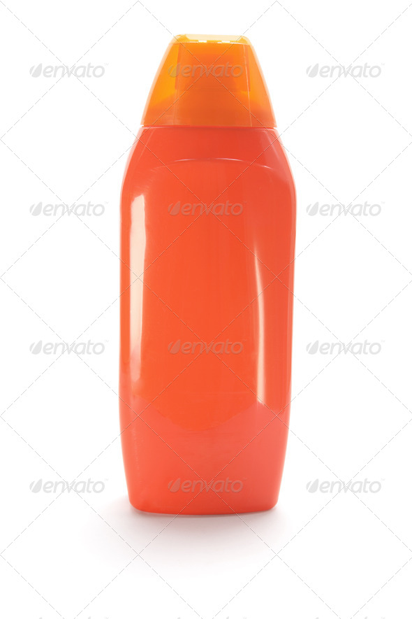 Shampoo Bottle - Stock Photo - Images
