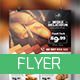 Bakery Food Flyer  - GraphicRiver Item for Sale