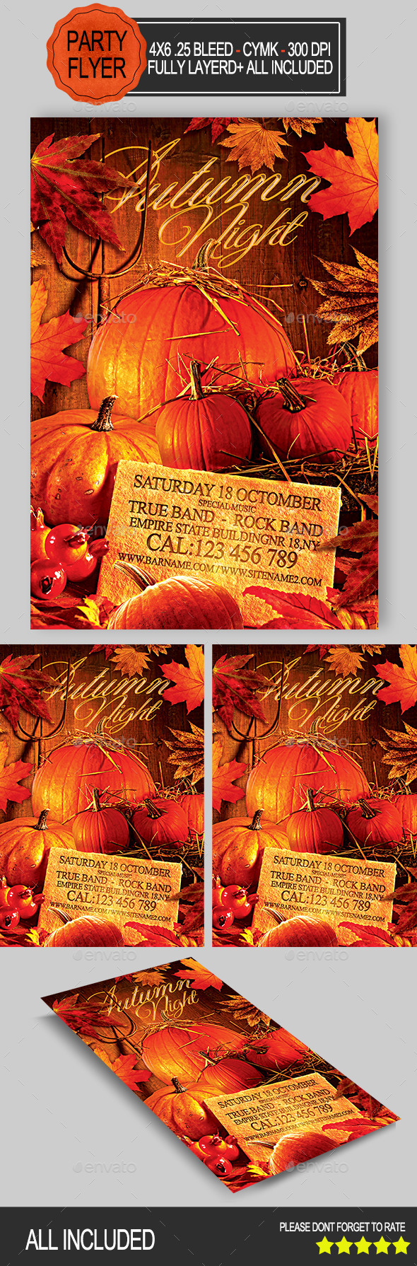 Autumn Night Party  - Clubs & Parties Events