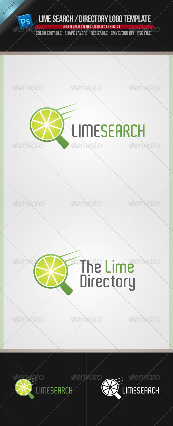 Lime Logo Template - Objects Logo Templates