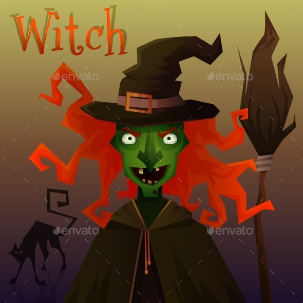 Evil Witch - Halloween Seasons/Holidays