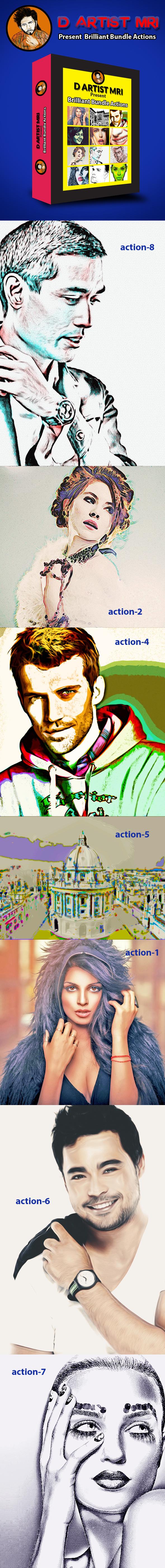Bundle Actions - Actions Photoshop