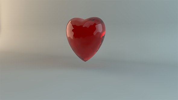 Glass Heart Pack - 3DOcean Item for Sale